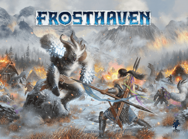zapowiedź frosthaven- sequela gry gloomhaven